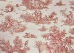 Pastoral Toile Red